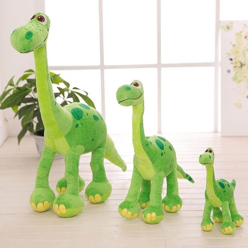 30/50/70cm Pixar <font><b>Toys</b></font> cartoon party supplies <font><b>Dinosaur</b></font> Arlo Spot Stuffed Animal Plush Doll Figure Baby Birthday gift for children image