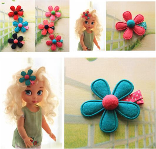 New Arrival styling tools Colorful flowers Hairpin headwear accessories make you Beautiful used by women young