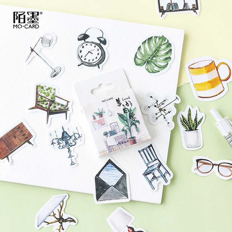 46 pcs/lot daily life mini paper sticker decoration stickers DIY diary scrapbooking planner label sticker kawaii stationery 48 pcs lot drift bottle mini paper sticker bag diy diary planner decoration sticker album scrapbooking kawaii stationery