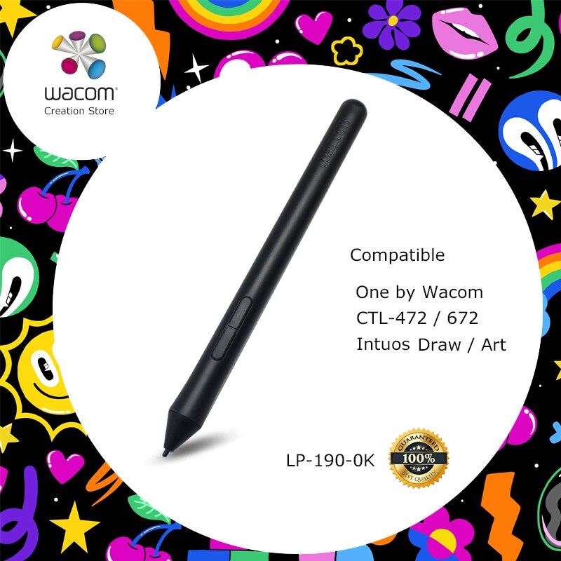 Для Wacom Intuos Draw/Art/3D/Comic Digital Graphic Drawing tablet pen (Wacom Pen 2 K 2048 уровней давления)