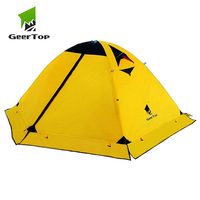 GeerTop Toproad 2Plus 2 Person 4 Season Backpacking Tent Outdoor Camping Equipment Dome Tents for Hiking Travel Climbing Winter