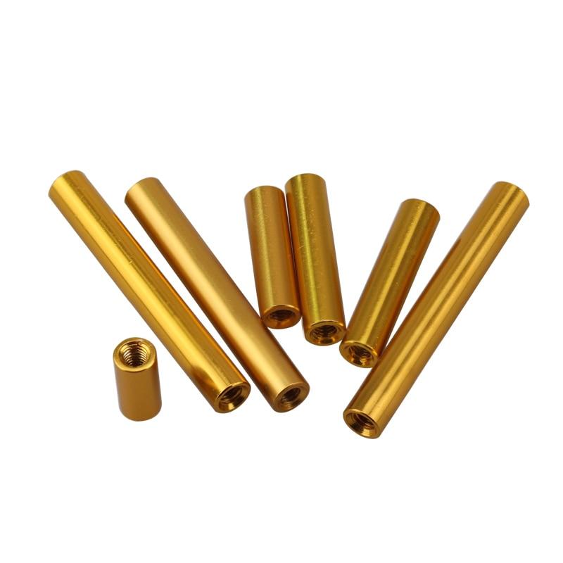 圆形铝柱金色-2