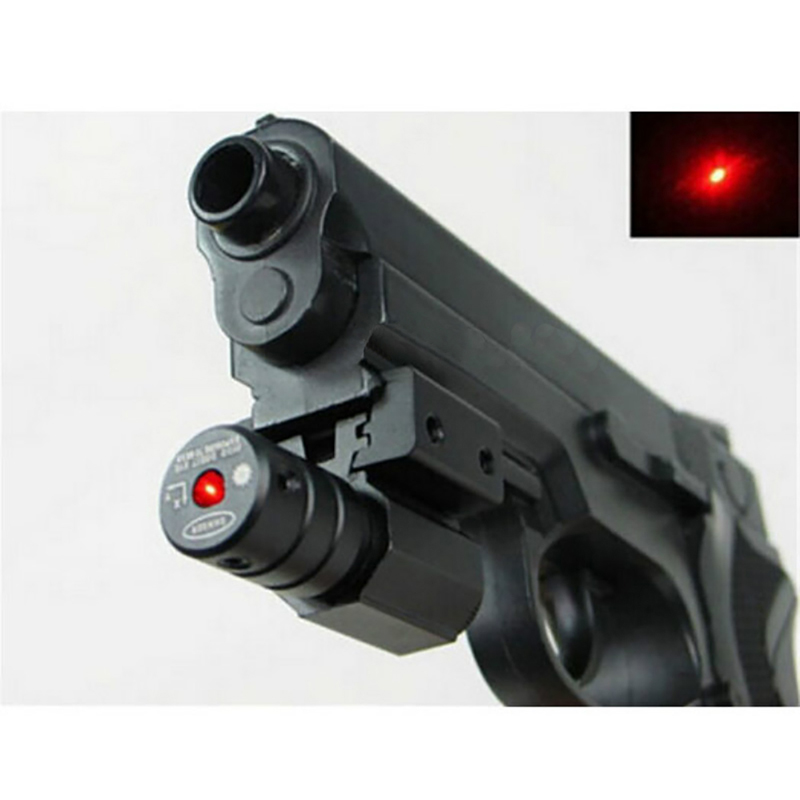 Image 5 - Red Dot Laser Sight  50 100 Meters Range 635 655nm For Pistol Adjust 11mm&20mm Picatinny Rail For HuntIing CY1-in Lasers from Sports & Entertainment