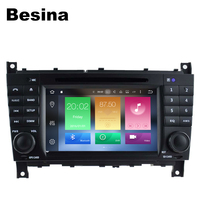 Besina 7Inch Two Din Car DVD Player For Mercedes Benz W203 W209 W169 W219 A Class