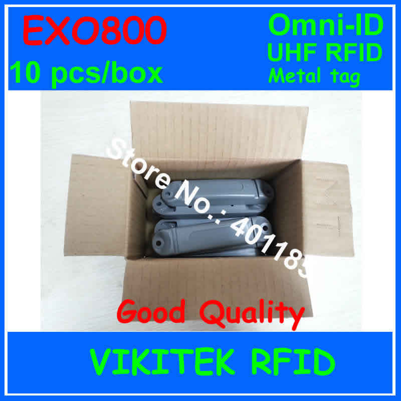 Omni-id Exo 800 UHF RFID металл тегов 10 шт. в коробке 915 м EPC C1G2 ISO18000-6C Exo800 производство тотализатор отслеживания логистика почтовый