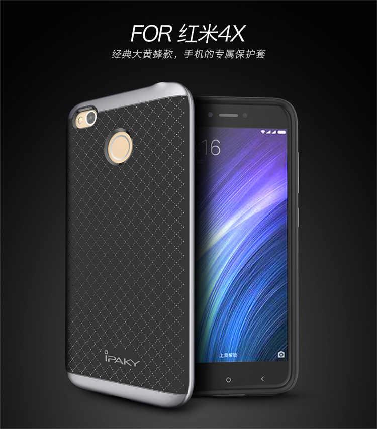 100 шт./лот IPAKY гибридный 2 в 1 предмет + чехол-накладка из ТПУ Для Xiaomi Mi6 M6/Redmi 4A/Redmi 4/Redmi 4 prime/Redmi 4X/Mi5 плюс