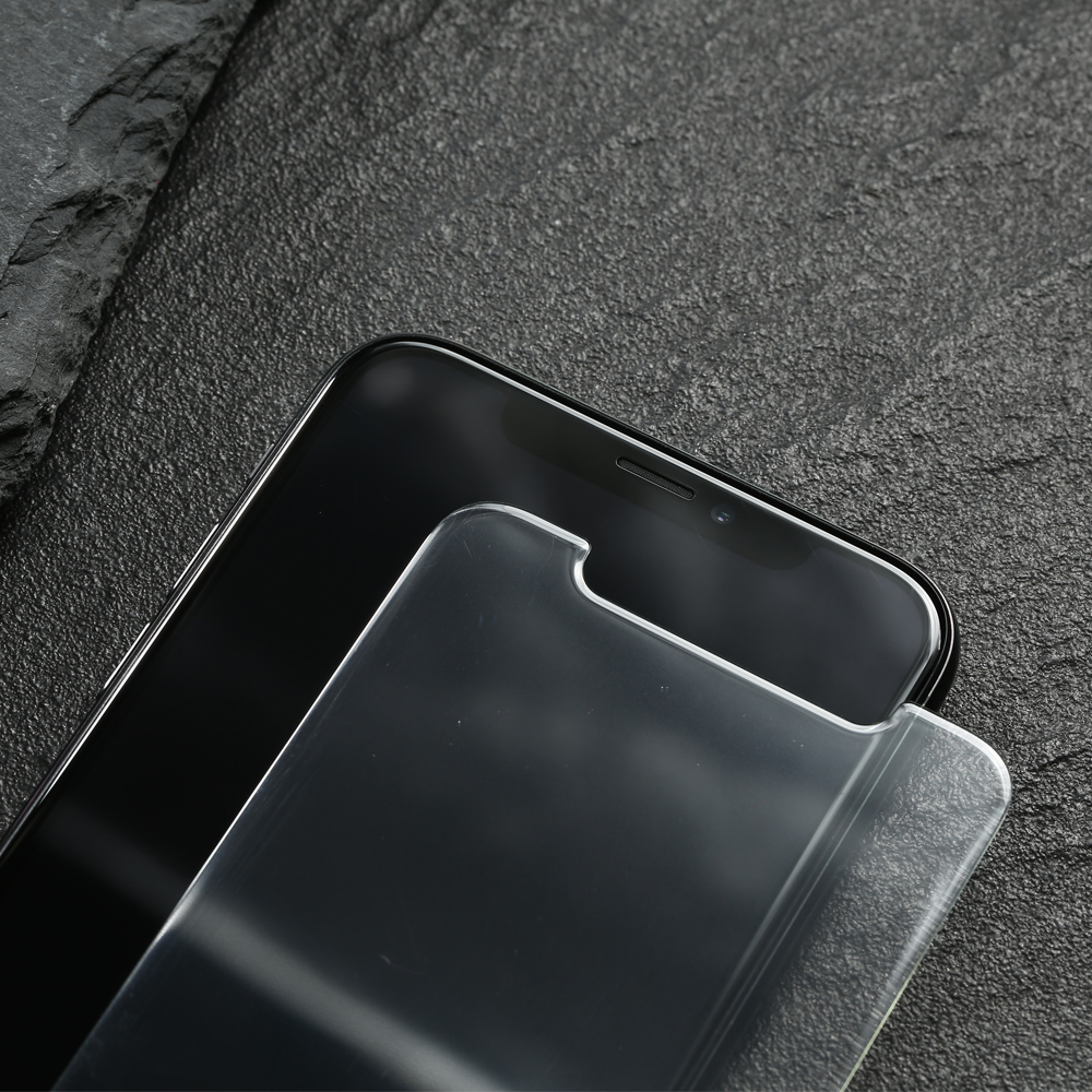 0 3MM 3D ARC Tempered Glass For iPhone XS Smooth Coating Screen Protector For iPhone XR XS MAX X ICE Oleophobic Protective Glass in Phone Screen Protectors from Cellphones Telecommunications