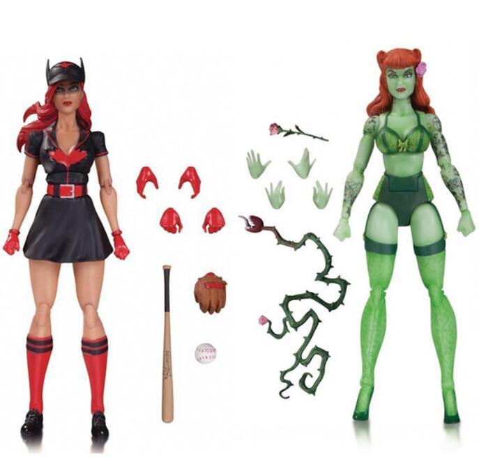<font><b>DC</b></font> <font><b>Super</b></font> <font><b>Heroes</b></font> <font><b>Girls</b></font> <font><b>Batgirl</b></font> Poison Ivy Bumble Bee Harley Quinn <font><b>Action</b></font> <font><b>figure</b></font> Doll Toy