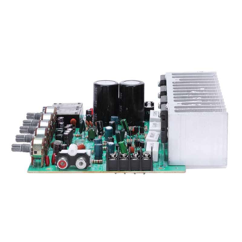 Płyta wzmacniacza Audio Hifi cyfrowy wzmacniacz mocy pogłosu 250W X 2 2.0 wzmacniacz Audio wzmacniacz tylny z kontrola dźwięku E3-00