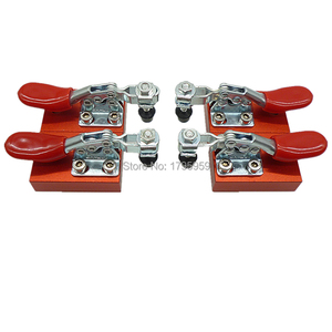 Image 2 - 4pcs Cnc Router Quick Clamp Fixture Plate Hold Quick Press Engraving Material Mounted Engraving Machine Fastening Platen Set