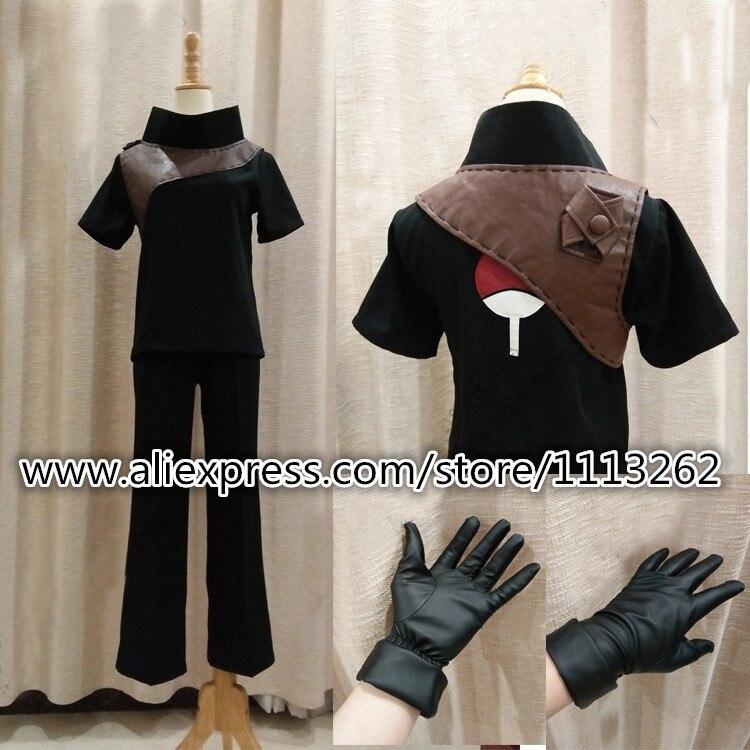 High Quality Anime Costume NARUTO Akatsuki Ninja Tobi ...