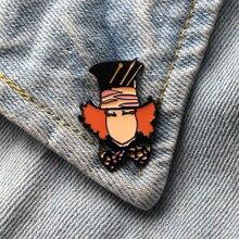 Homegaga cartoon Zinc Pins backpack clothes brooches for men women decoration badges medals D1892