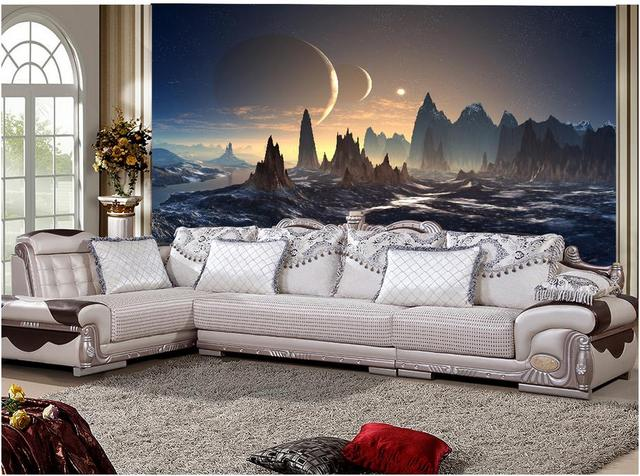 3d papier peint paysage montagne pic fen tre murale papier peint photo mur murales wallpaper. Black Bedroom Furniture Sets. Home Design Ideas