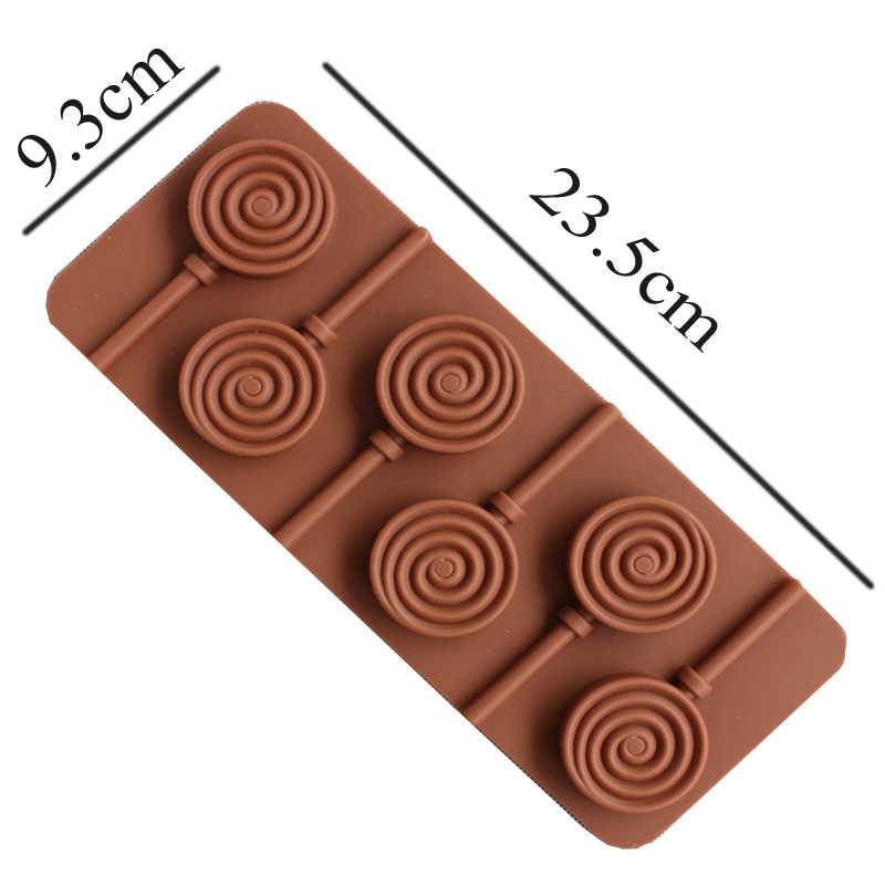 Doughnut леденец форма для выпечки Силиконовые 3D ручной работы палочки для леденцов леденцы конфеты шоколадное украшение торта плесень