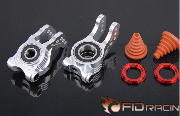 FID Rear Wheel C Block FOR LOSI 5IVE-T V2 version losi 5ive t hd billet rear hub carriers