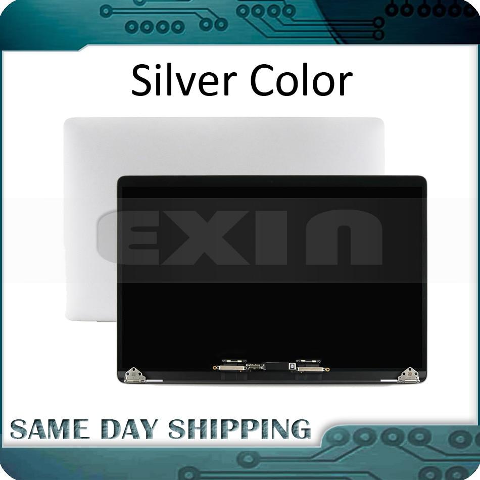 NOVO Laptop A1990 Tela LCD Full Assembléia Prata Cinza para Macbook Pro 15