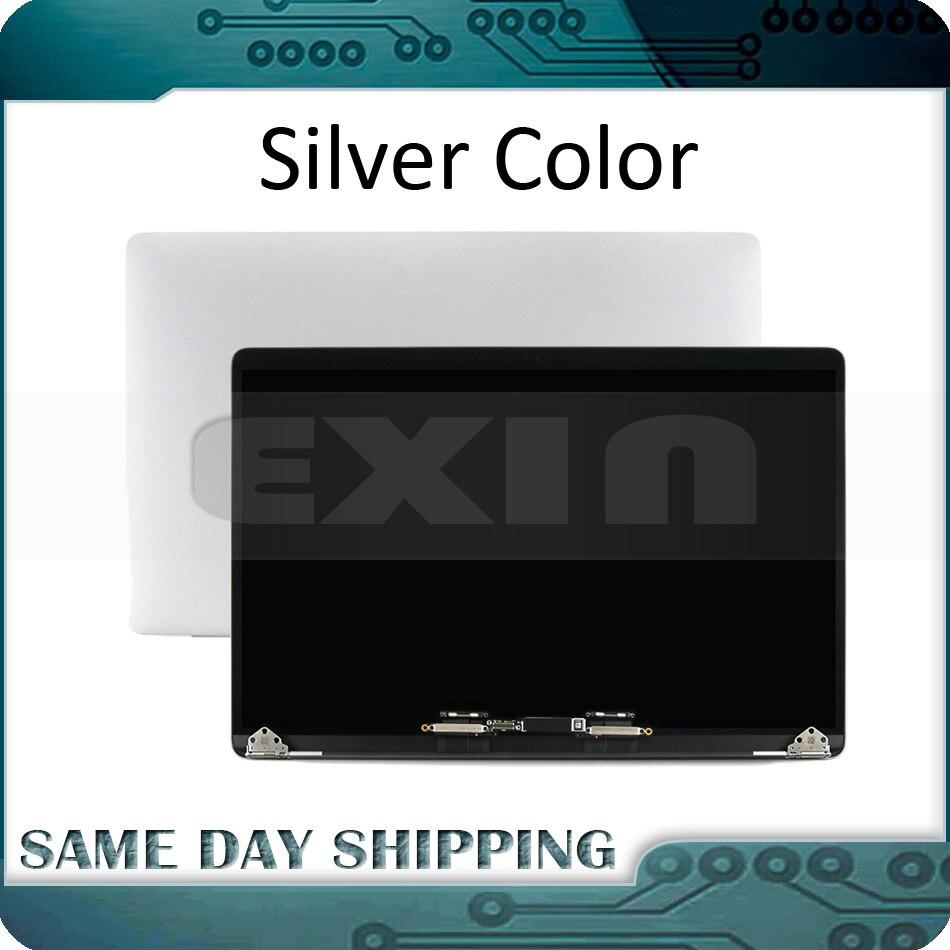 Nouveau ordinateur portable A1990 plein écran LCD assemblage gris argent pour Macbook Pro 15 Retina A1990 complet affichage assemblage milieu 2018 année
