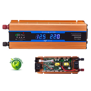 Car inverter 2600W DC 12 V to AC 220 V P
