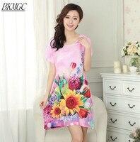 Plus Size Women S Cotton Robe Bath Gown Nightgown Pijama Mujer Hot Sale Pink Summer Sleepwear