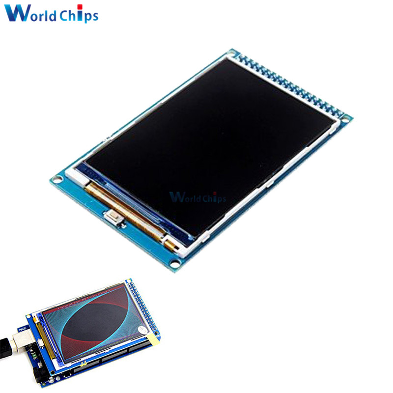 3.5'' 3.5 Inch TFT LCD Screen Module Ultra HD 320X480 Support For Arduino Mega2560 MEGA 2560 R3 Board ILI9486 16 Bits Parallel