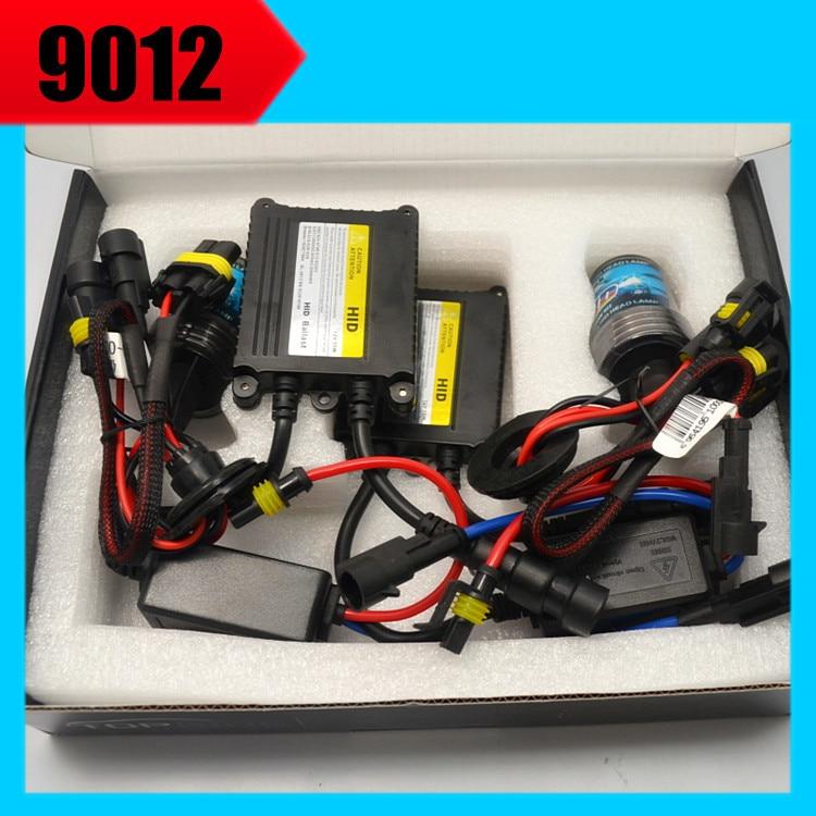 1 комплект HID фар Лампа HIR2 9012 HIR2 с лампами HID балласты для HID комплект 4300К-8000k для Тай-Левин новый рег-ал