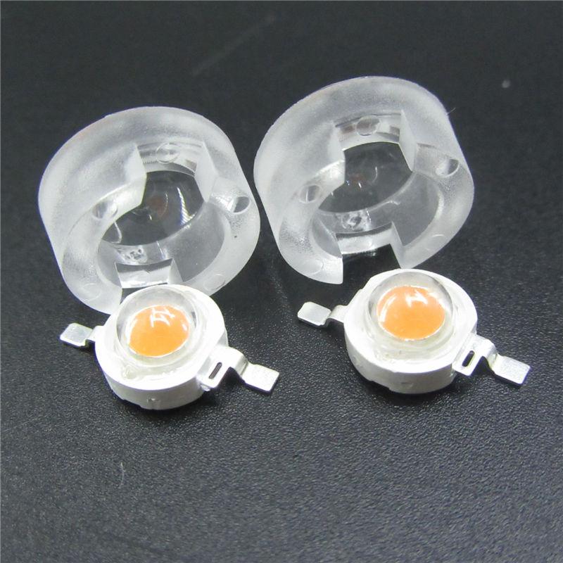13 мм 1 Вт 3 Вт Мини светодиодный объектив 15 30 45 60 90 100 градусов для ИК CCTV светодиодный PCB выпуклая Акриловая линза с держателем рефлекторный коллиматор