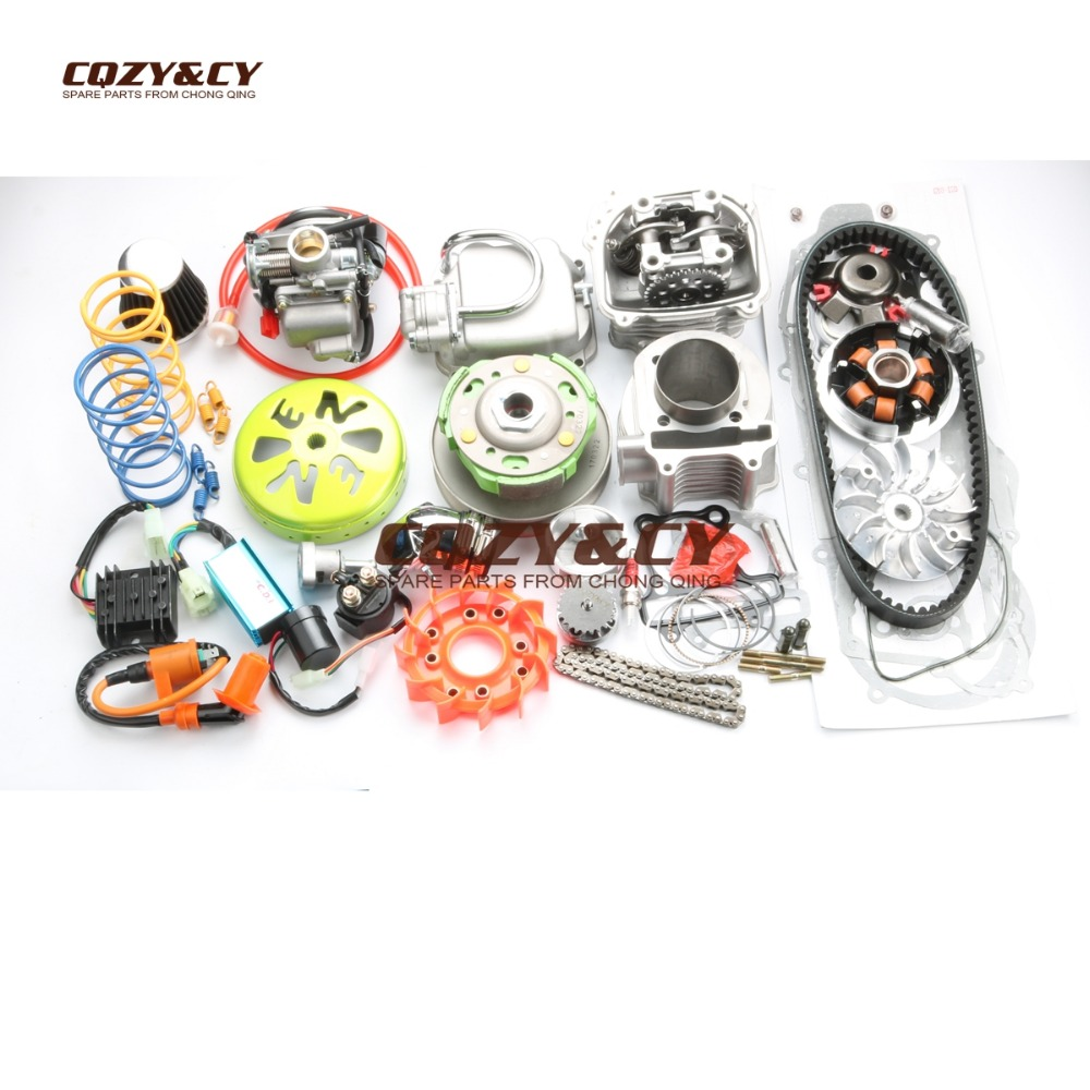 Cheap product 200cc gy6 big bore kit in Shopping World