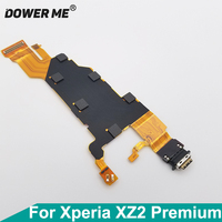 Dower Me USB Connector Type-c Charger Charging Port Flex Cable For Sony Xperia XZ2 Premium H8166 XZ2P Plus 5.8