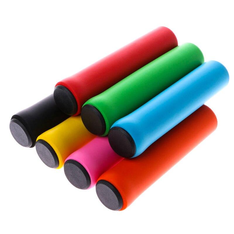 Велосипедные ручки для велосипеда, силиконовый руль для горного велосипеда, мягкие сверхлегкие ручки, анти-занос, амортизирующая часть для ...