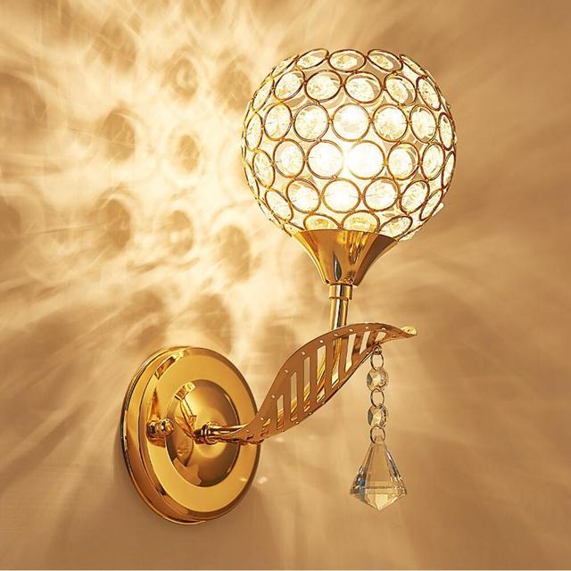 aliexpress koop kristal wandlamp bedlampje leeslampjes