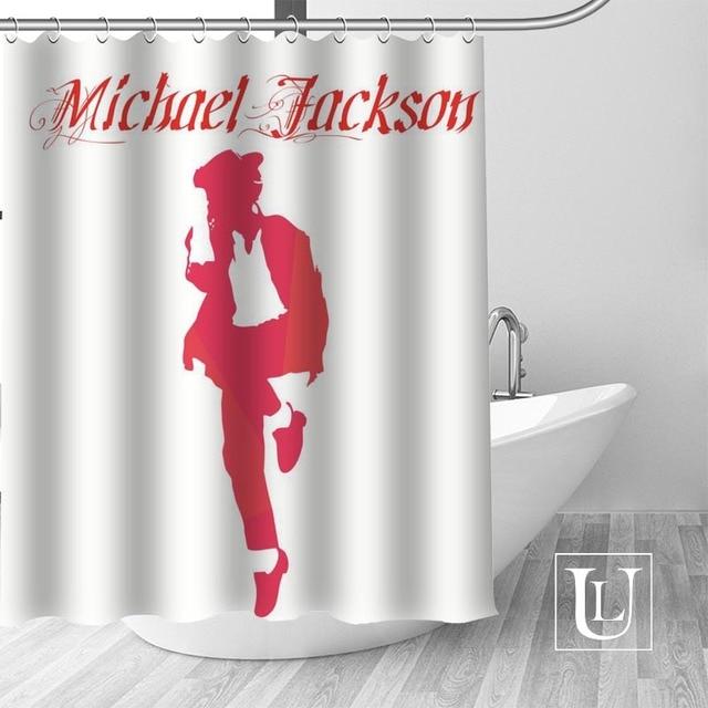 1 Shower Curtain Michael jackson shower curtain jackson galaxy 5c64f7a44ec73