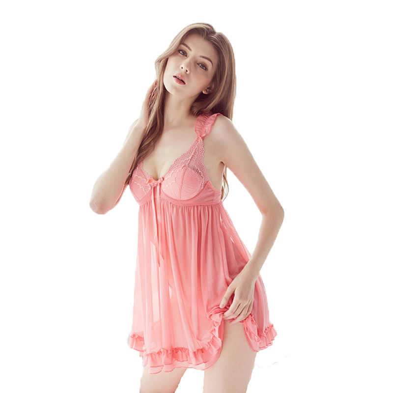 5d36469e78 women s sleep night sloth romper underwear lingerie for adult sexy deep  V-neck nightgown one