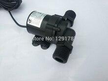 900 l/h max solar dc 12v a 24v bomba de circulação de água quente da bateria bomba de água do motor sem escova
