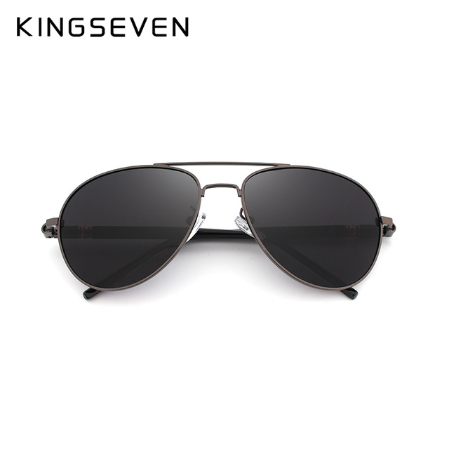 KINGSEVEN Brand Designer Aviation Sunglasses Polarized Men Driving Round Sun Glasses Women Oculos lentes de sol mujer  UV400