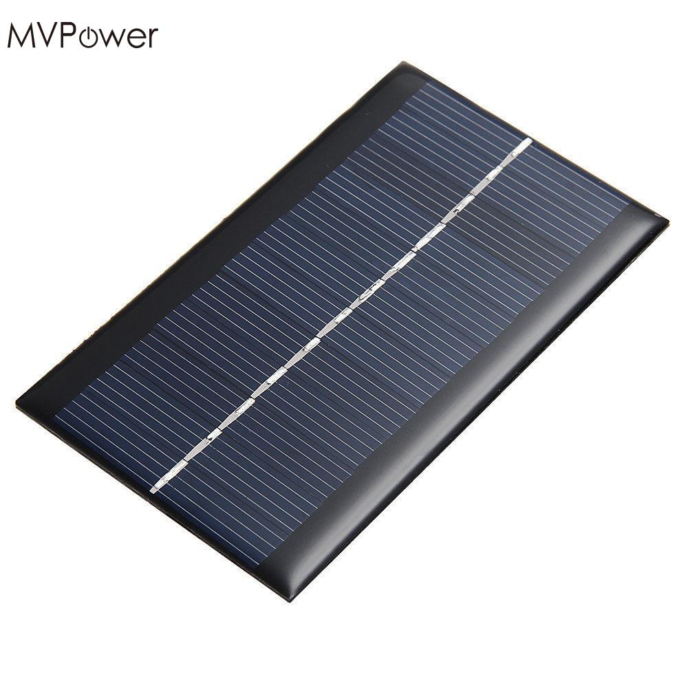 MVPower Mini 6V 1W Solar Power Panel Solar System DIY For Battery Cell Phone Chargers Portable Solar Panel high efficiency solar cell 100pcs grade a solar cell diy 100w solar panel solar generators