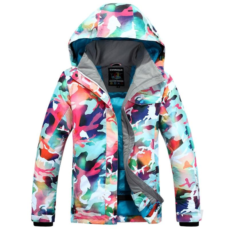 Prix pour 2017 Se Sont Précipités Nouvelle Arrivée Jaqueta Feminina Inverno Ski Vestes de Neige Femme Manteau de Ski Snowboard Veste Costume Femmes Porter Ropa Mujer
