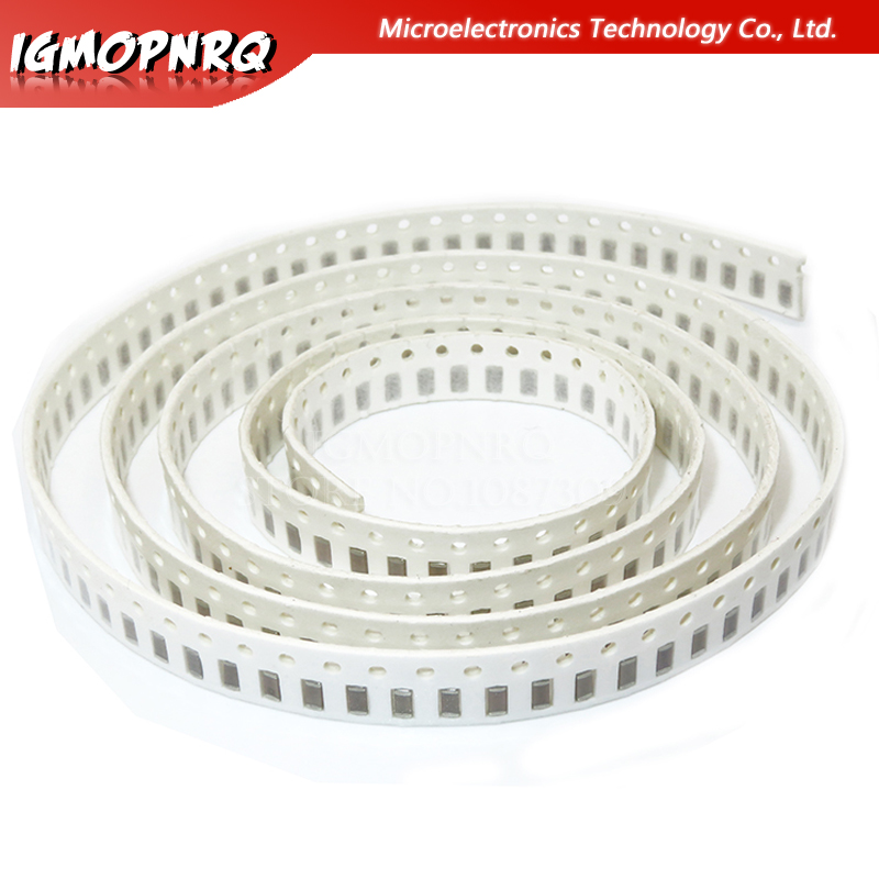 100pcs 1206 SMD Thick Film IgMopnrq Chip Multilayer Ceramic Capacitor 10pf-22uf 10PF 22PF 1NF 10NF 100NF 10UF Good