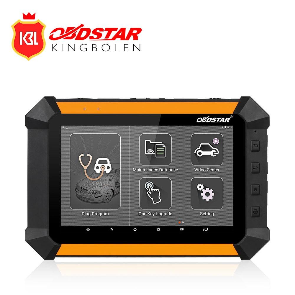 Цена за Новый obdstar X300 DP X-300 Pad Auto Key Программист pin-код коррекция одометра EEPROM адаптер EPB ABS Полный набор диагностического инструмент