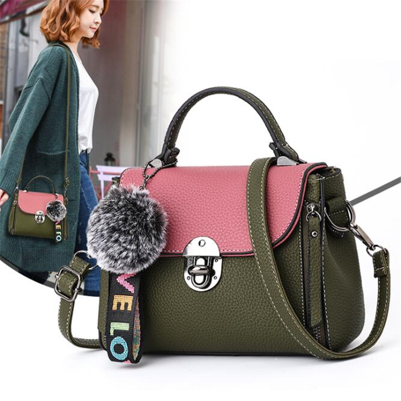 227816f8de04 DIDA BEAR 2018 New Fashion Women Small Leather Handbags Lady Shoulder Bags  for Shopping Travel Female mini Bag Bolsas Femininas-in Shoulder Bags from  ...