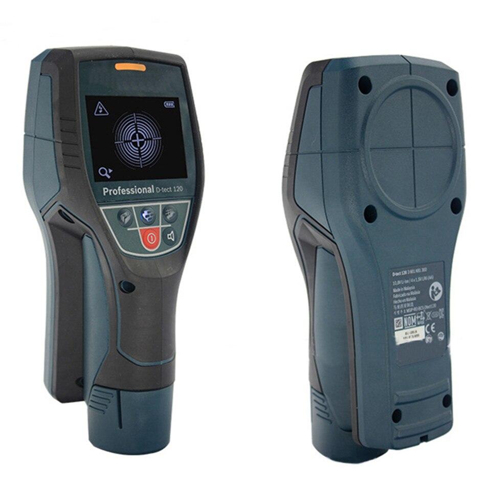 O Detector De Parede D-tect120 Detecta Tubos de Água de Plástico/Madeira/Cabo/Metal
