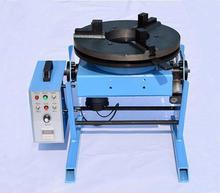 100KG HD 100 Welding Positioner Turntable With Lathe Chuck WP200