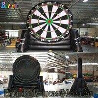 Giant inflatable football dart board, inflatable football darts game, custom risk darts game football darts