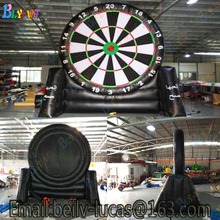 Giant inflatable football dart board, inflatable football darts game, custom risk darts game football darts best price of football dart game inflatable soccer darts game on sale