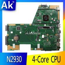 AK X551MA материнская плата для ноутбука ASUS X551MA X551M X551 F551MA D550M Тесты оригинальная материнская плата N2930 4-х ядерный Процессор