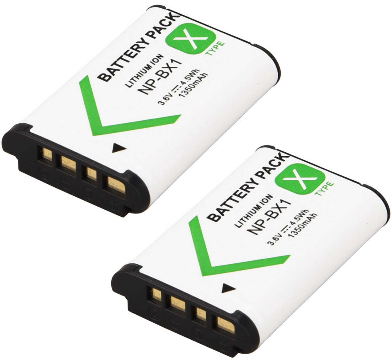 Battery Pack for <font><b>Sony</b></font> <font><b>HDR</b></font>-AS30V, <font><b>HDR</b></font>-AS50R, <font><b>HDR</b></font>-AS100VR, <font><b>HDR</b></font>-AS200VR, <font><b>HDR</b></font>-<font><b>AS300R</b></font>, FDR-X1000VR, FDR-X3000R POV Action Cam image