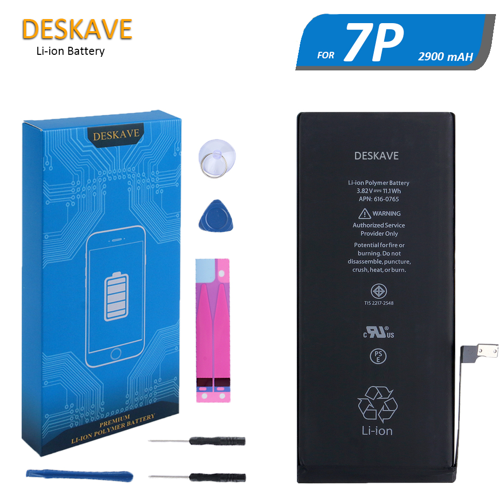 Original High Capacity 2900mAh Li-ion <font><b>Battery</b></font> for Apple <font><b>iPhone</b></font> <font><b>7</b></font> Plus 7Plus Zero Cycle Replacement <font><b>OEM</b></font> AAA Quality A1661 A1784 image