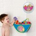 SOZZY banheiro canto saco de brinquedos de banho para crianças bolsa de acabamento sacos de acabamento sacos de armazenamento brinquedos de natação do bebê produtos WJ260