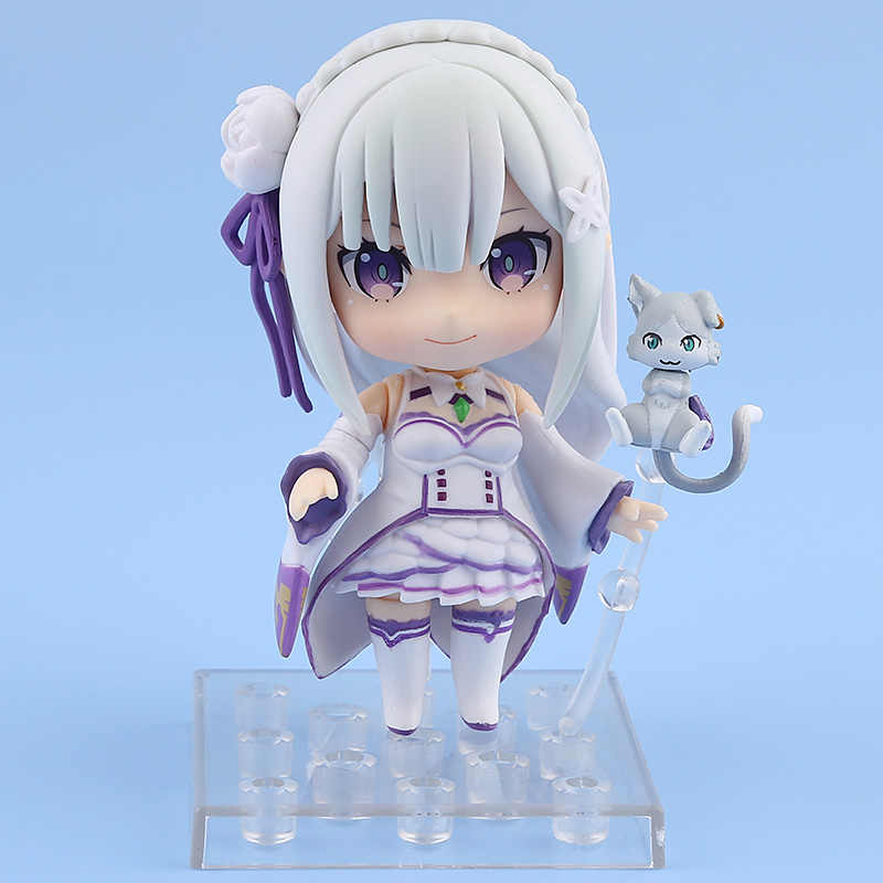 Re: Zero - Starting Life in Another World Emilia 751 Nendoroid Emilia Action Figure Toy 9cm ND-F0