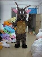 TRAJES ESTRELLA POLAR MASCOTA marrón trajes de la mascota de piel de ciervo con Envío rápido Libre