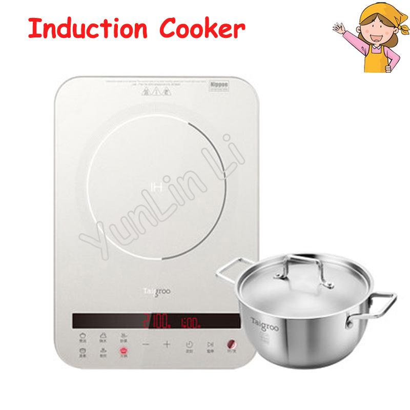 220V Multi-Functional Induction Cooker Electric Household Intelligent Ultra Thin Touch Screen Kitchen Induction Cooker IC-A2102
